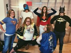 What? Don't you have a superhero day at your agency?