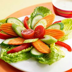 Cool shapes, fun toppings, and colorful dressings will win over your picky eater.