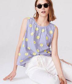 Efficient J.jill 6p Skirt Yellow Pink Floral Petite Last Style Skirts