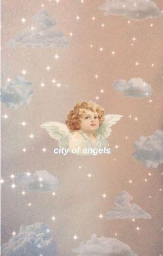aesthetic i made a wallpaper :) Angel Wallpaper, Iphone Background Wallpaper, Tumblr Wallpaper, Disney Wallpaper, Angel Aesthetic, Aesthetic Art, Aesthetic Fashion, Aesthetic Vintage, Aesthetic Pastel Wallpaper