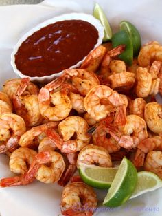 Crevettes à la sauce bloody Mary