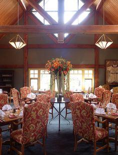 Sleeping Buffalo Dining Room at Buffalo Mountain Lodge, Banff