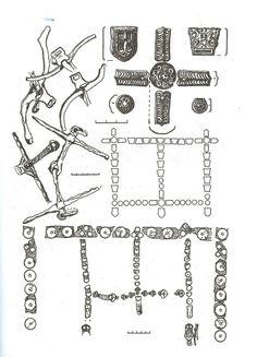 9-10th century Southern Russia. Khazarian horse gear