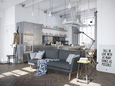 Zdjęcie numer 1 w galerii - Mieszkanie w odcieniach szarości