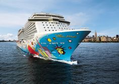 Norwegian Breakaway - find out more at http://www.the-cruise-specialists.co.uk/cruise-lines/norwegian-cruise-line/norwegian-breakaway