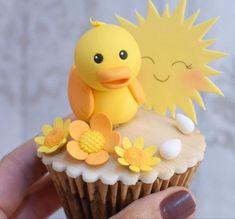 Fondant Baby, Baby Shower Cupcakes, Desserts, Food, Tailgate Desserts, Deserts, Essen, Postres, Meals