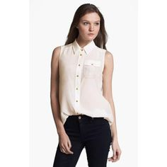 MARC BY MARC JACOBS 'ERIN' SILK TOP