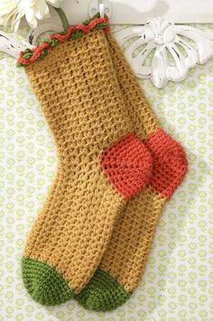 Stylish Easy Crochet: Warm Socks – Crochet Socks For Both Women And Men – Knitting Socks İdeas. Easy Crochet Socks, Crochet Simple, Crochet Slipper Pattern, Crochet Shoes, Crochet Slippers, Crochet Blanket Patterns, Crochet Clothes, Crochet Blankets, Stitch Patterns
