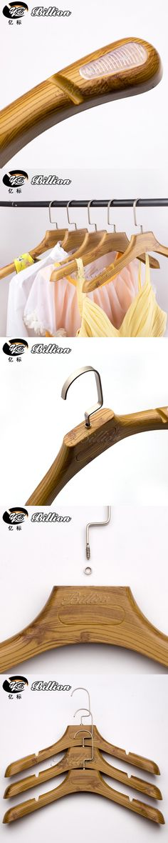 Cheap 5pc Women and men Non-Slip fake Wooden plastic Clothes Hanger Deluxe Wide Shoulder for Garment and Coats