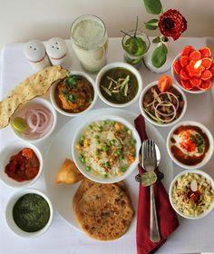 Ribbon's to Pasta's: Punjabi Thaali