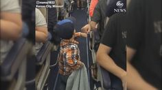 This 2-year-old boarded his flight in style as the friendliest passenger on his airplane, fist-bumping people as he walked down the aisle.  The family was flying from Kansas City, Missouri, to Chicago, Illinois, on their way home to Raleigh, North Carolina, on July 20 when the precious moment was caught