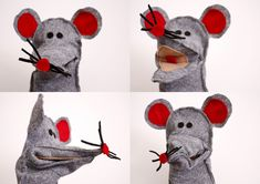 marionetta topo tutorial