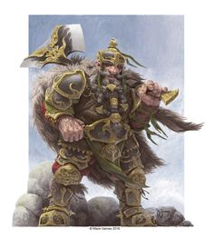 ArtStation - Dwarf King, Daniel Zrom