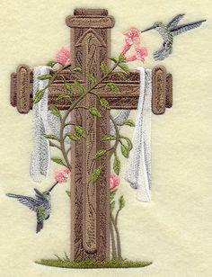 Cross and Hummingbirds