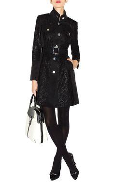 Karen Miller lace trench coat. Beautiful.