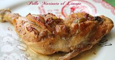 Pollo marinato al limone