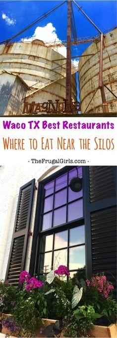 Waco Texas Best Restaurants - Where to Eat Near the Magnolia Silos! {Best Coffee, Best BBQ, Best Dessert + more!} - Tips from TheFrugalGirls.com