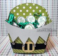 Paper Crafts by Candace: December 2012 Darling elf box