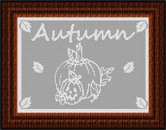 Filet Crochet CHART-Autumn 2013