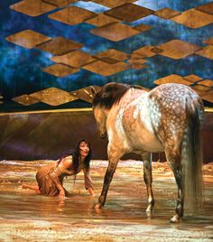Cavalia--- I would absolutely love it if I could go to this... Extravaganza Horse Shows & Performances Learn about #HorseHealth #HorseColic www.loveyour.horse