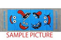 Dragon Quest Long Towel 13×32 inch  SQUARE ENIX JAPAN ANIME GAME 2