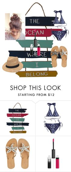 """""""Day At the Beach"""" by niallersprincess4321 on Polyvore featuring Amir Slama, ASPIGA, MAKE UP FOR EVER and Gottex"""