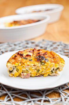 Spätzle-Omelette {frisch aus dem ofen}