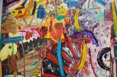 Gillian Ayres – oil painting