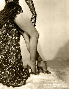 Ginger Rogers' legs