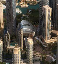 Imagem do Dia: Construção do Edifício da Ópera do Dubai
