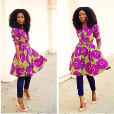 .@cf_magazine | Ankara Fever! We are loving this wrap jacket from @Karen Jacot Darling Pantry! #fashion #ank... | Webstagram