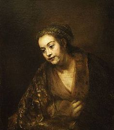 All of Rembrandt's Paintings | enlarge painting painting name hendrickje stoffels 1660 painting size ...