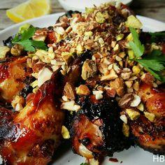 Baklava'-kipvleugeltjes uit het septembernummer van Delicious magazine