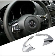 Find More Stickers Information about 2pcs abs for Volkswagen New Sagitar New polo The new Bora Golf 6 New Santana Steering wheel Plating sticker Decorative article,High Quality stickers fluorescent,China stickers pics Suppliers, Cheap abs apple from PaiKoo Company on Aliexpress.com