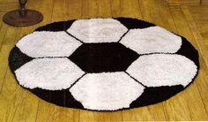 CROCHE COM RECEITA: Tapete em croche bola para o menino e para a menin...