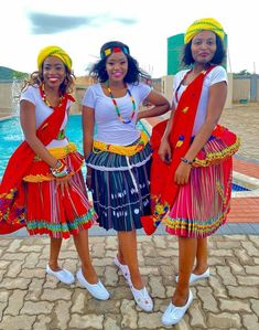 Tsonga Traditional Dresses, Traditional Outfits, Wedding Bridesmaids, Wedding Dresses, Traditional Wedding, African Fashion, Dream Wedding, The Incredibles, Weeding