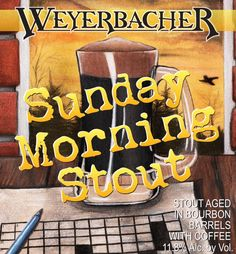 Weyerbacher-Sunday-Morning-Stout craft loyal beer news brew review crew