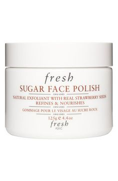 Fresh® Sugar Face Polish | Nordstrom. Highly recommended. Use as scrub, leave on as mask. Good for right after flights.