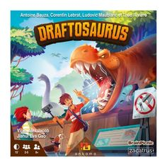 Family Boards, Family Board Games, Fun Board Games, Games To Play, Building Games, Building A Deck, Draft Games, Roll A Die, Dino Park