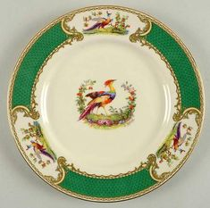 We've found the best sales for you myott staffordshire chelsea bird green (enamel) salad plate, fine china dinnerware - green border, birds & flowers, enameled on Shop Better Homes & Gardens. Outdoor Cooking, Summer Sale, Tea Time, Dinnerware, Tea Party, Chelsea, Decorative Plates, Household, Enamel