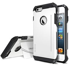 iPhone 6 Plus Case, Obliq [Card Kickstand] iPhone 6 Plus (5.5) Case [SkyLine Pro][White] Armor Slim Fit Dual Layer Hard Case Cover - Best Apple iPhone 6 Plus Case for 5.5 Inch (2014)-(Does NOT fit iPhone 5 5S 5C 4 4s or iPhone 6 4.7 inch screen) Obliq http://smile.amazon.com/dp/B00NFYHEHA/ref=cm_sw_r_pi_dp_6bLsub0NYHVGJ