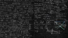 Blackboard And Math iMac Wallpaper