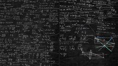 Blackboard And Math iMac Wallpaper