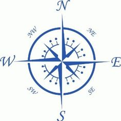 Compass Wall Sticker: Amazon.co.uk: Kitchen & Home