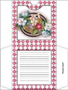 gift box templates by Jayne Crookes