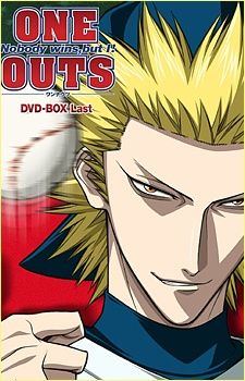 One Outs  One of the best psychological sports anime out there. Baseball shit just got real.