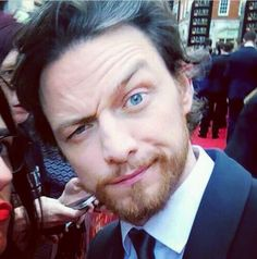 James McAvoy is so adorable when hes being silly