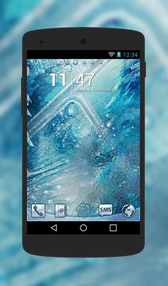 """Free Android Theme """"Ice""""  http://androidlooks.com/theme/t0742-ice/   #Ice, #android, #androidthemes, #customization, #goLauncher"""