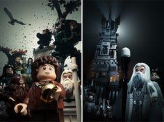 #LordoftheRings and #Hobbit film trilogies in superb photographies!