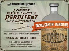 Social Content Marketing on SlideShare
